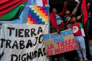 Resistance and solidarity are growing (Photo: Mocase - Argentina)