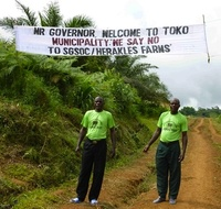 Cameroon activists on trial for peaceful protest against Wall Street land grabber-image