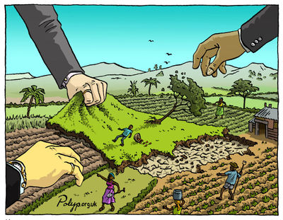 Seized! The 2008 landgrab for food and financial security (in Japanese)-image